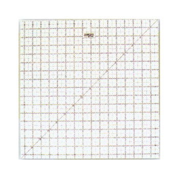 Frosted Ruler Square 16.5