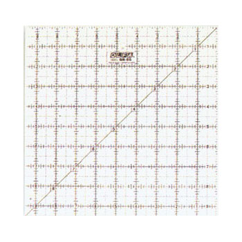 Olfa - Frosted Ruler Square 9.5