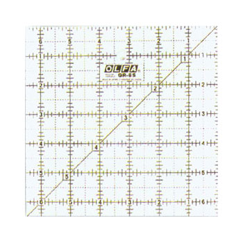Olfa - Frosted Ruler Square 6.5
