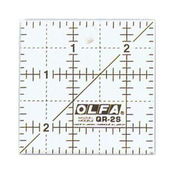 Frosted Ruler Square 2.5