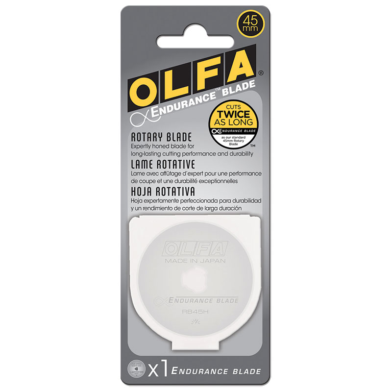 Olfa Endurance Rotary Replacement Blade - 45mm