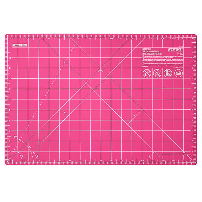 Rotary Mat 12x18 Pink