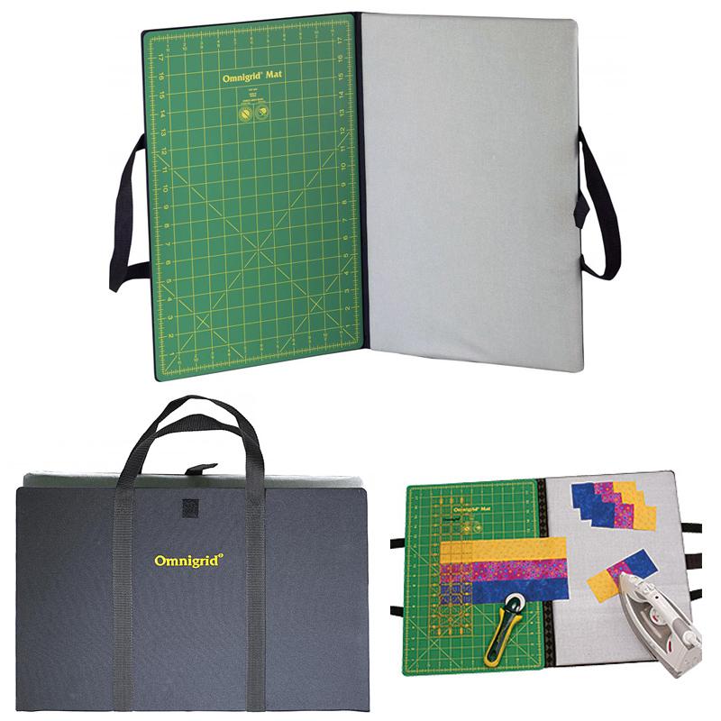 OmniGrid Fold Away Portable Cutting & Pressing Station, 12 x 18