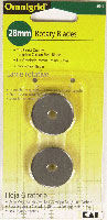 Rotary Blades 28mm 2ct