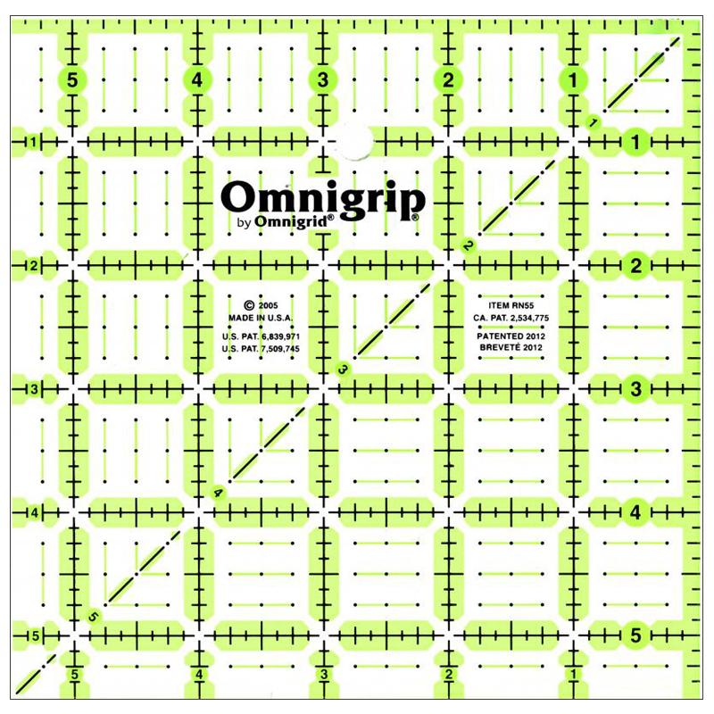 Omnigrip Square Ruler 5.5X5.5