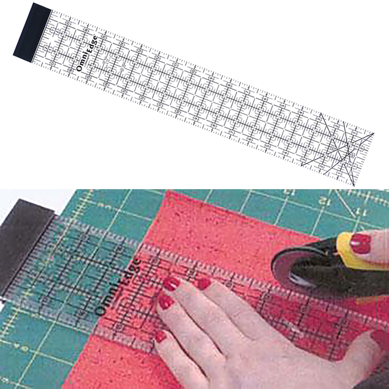 Omnigrid OmniEdge Ruler 3in x 18in