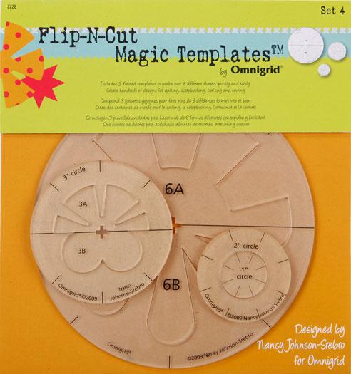 Flip N Cut Magic Template Set 4