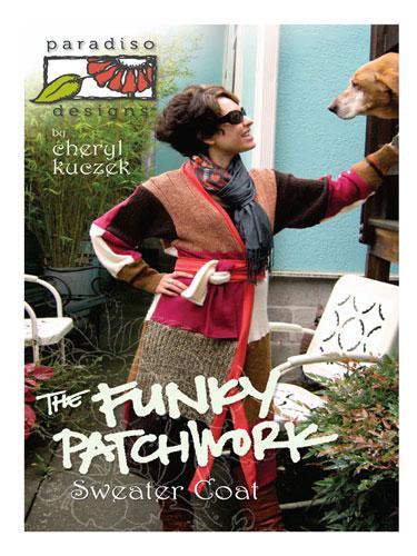 The Funky Patckwork Sweater Coat