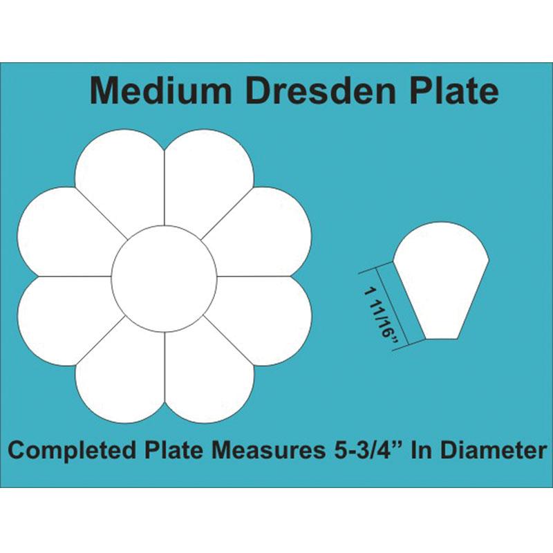Med Dresden Plate (2 8 Blocks)