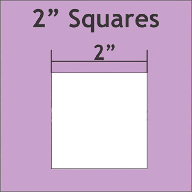 Square 2 50ea Paper Pieces