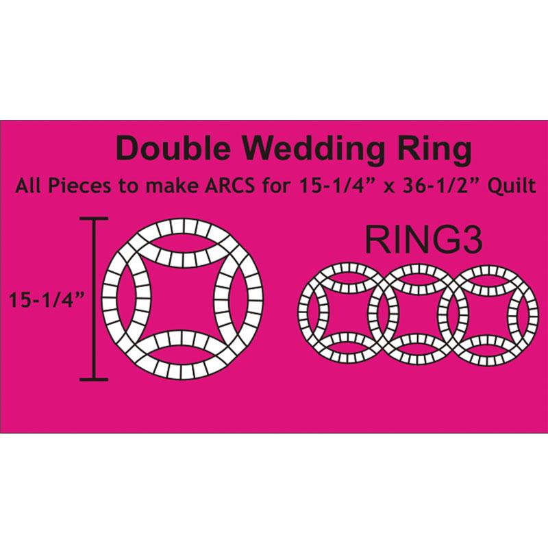 Double Wedding Rings 140pcs