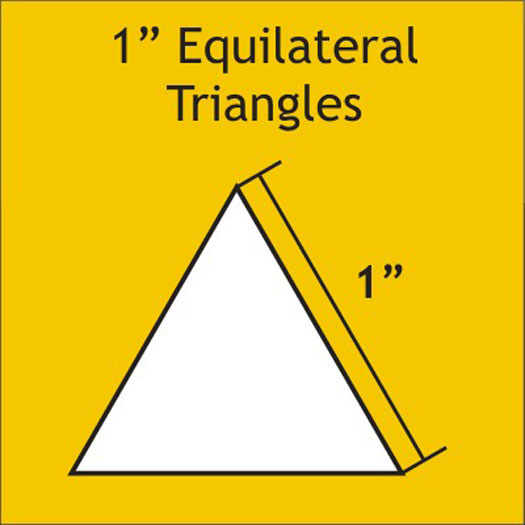N- Paper Pieces Equilateral Triangle 1 (100 pieces)