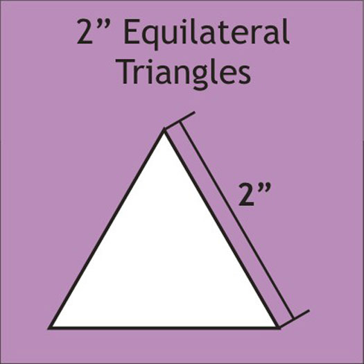 EPP - 2 Equilateral Triangle Papers 75 pk