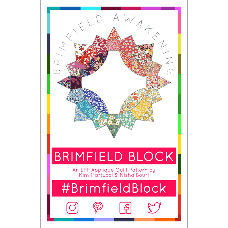 Brimfield Block Pattern & Paper Pieces Complete Pack