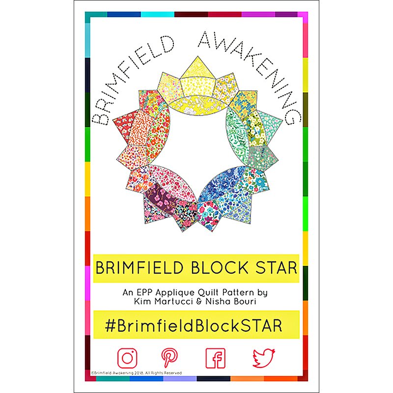 The Brimfield Star Block Pattern