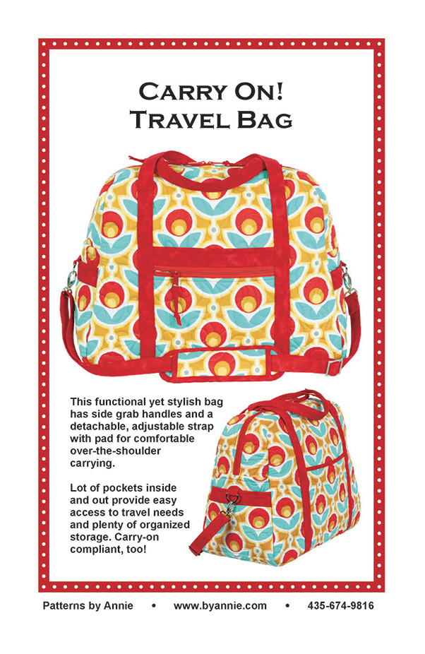 Carry On Travel Bag By Annie