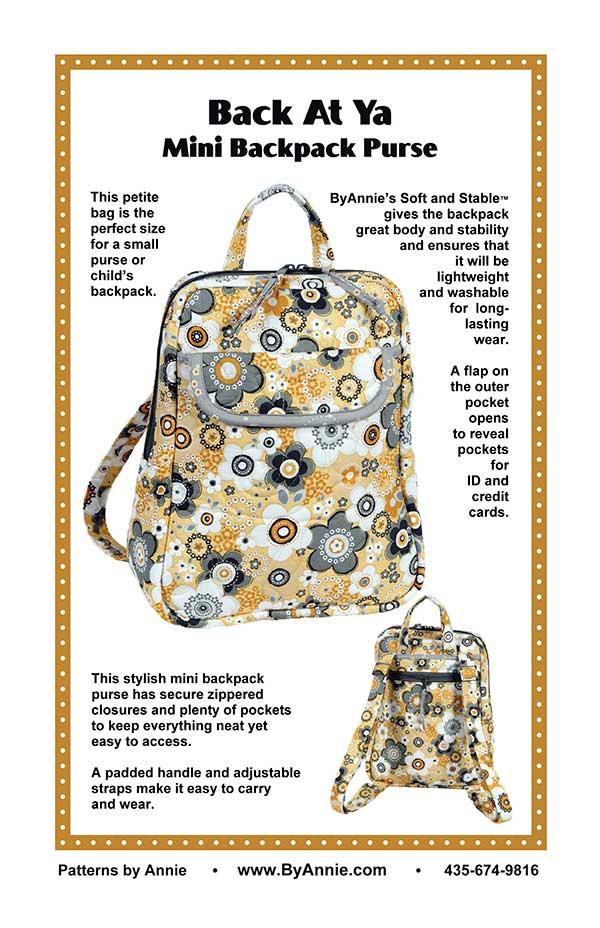 Back At Ya Mini Backpack