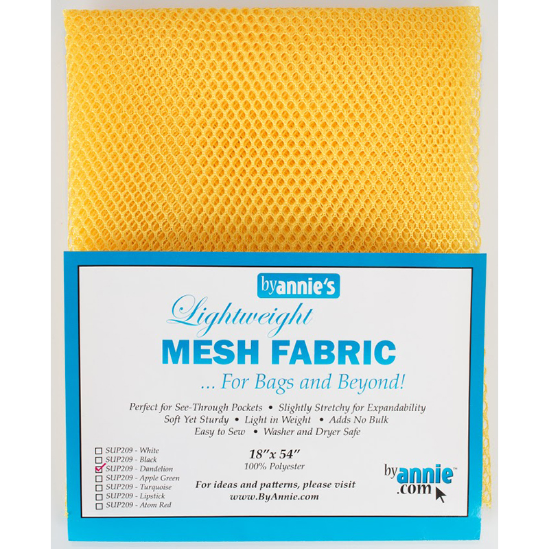Mesh Fabric 18x54 by Annie - Dandelion