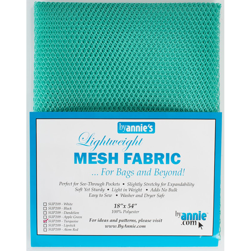 Mesh Fabric 18x54 Turquoise