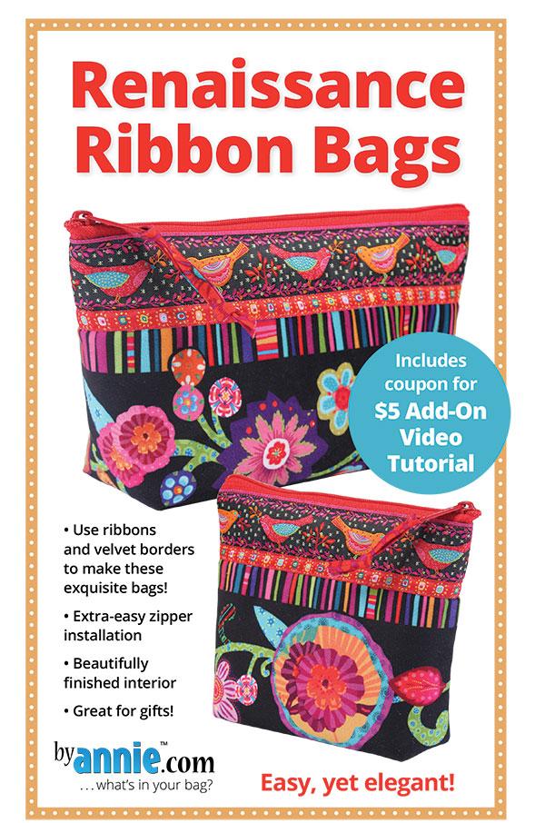 By Annie Renaissance Ribbon Bags
