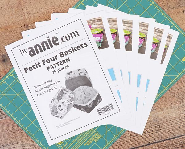 Petit Four Baskets Pattern Only