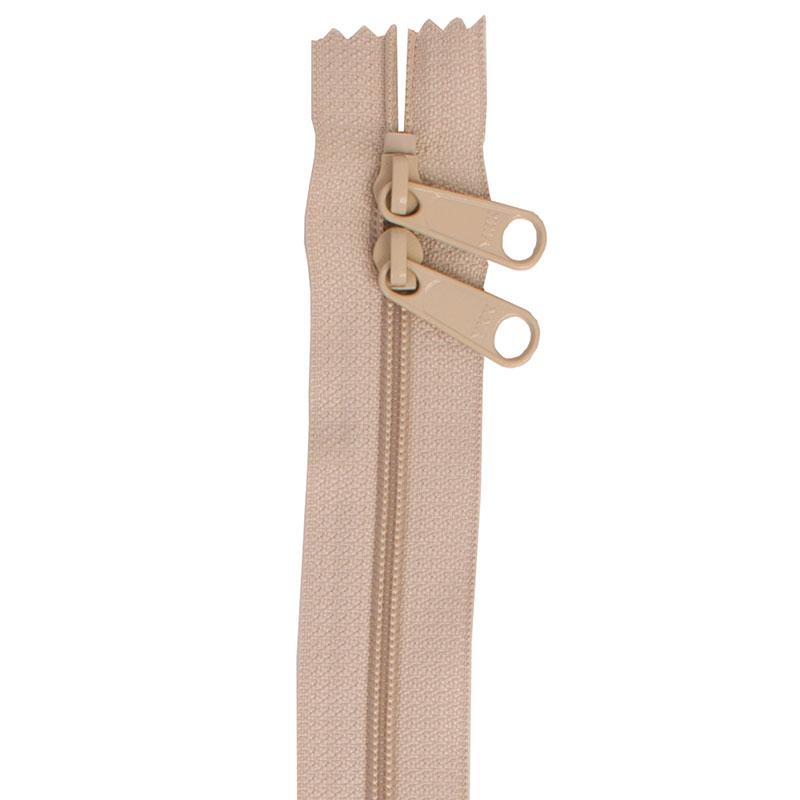 Double Slide 30 Zipper Natural