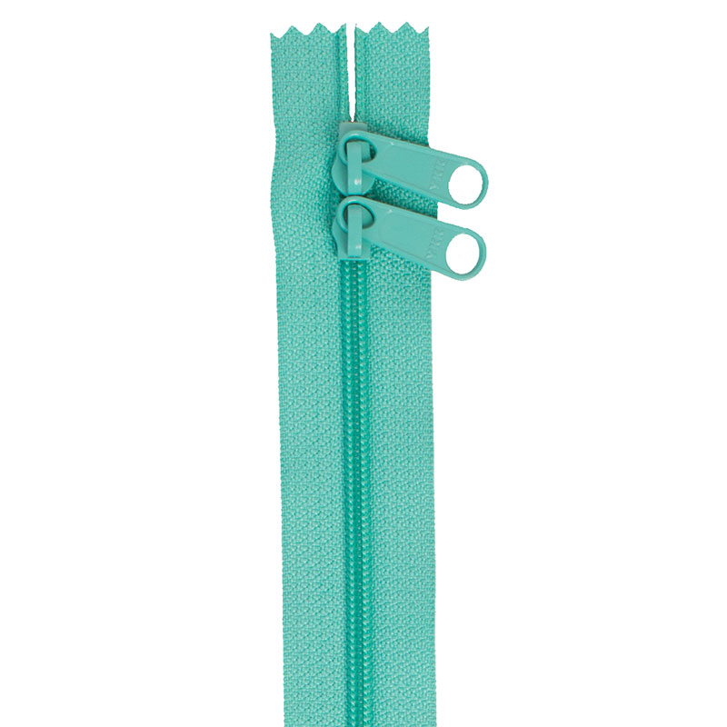 By Annie Double Slide 30 Zipper - Turquoise