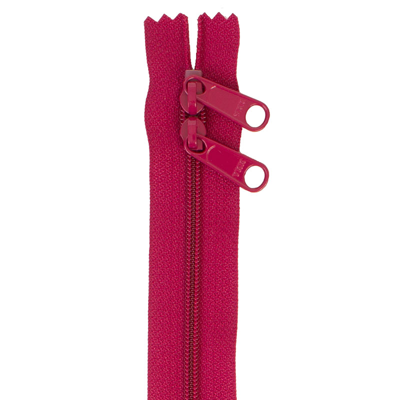 By Annie Handbag Zipper 30in Double-Slide - Crazy Plum