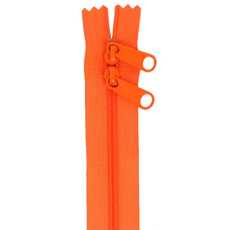 By Annie Handbag Zipper 30in Double-Slide - Pumpkin