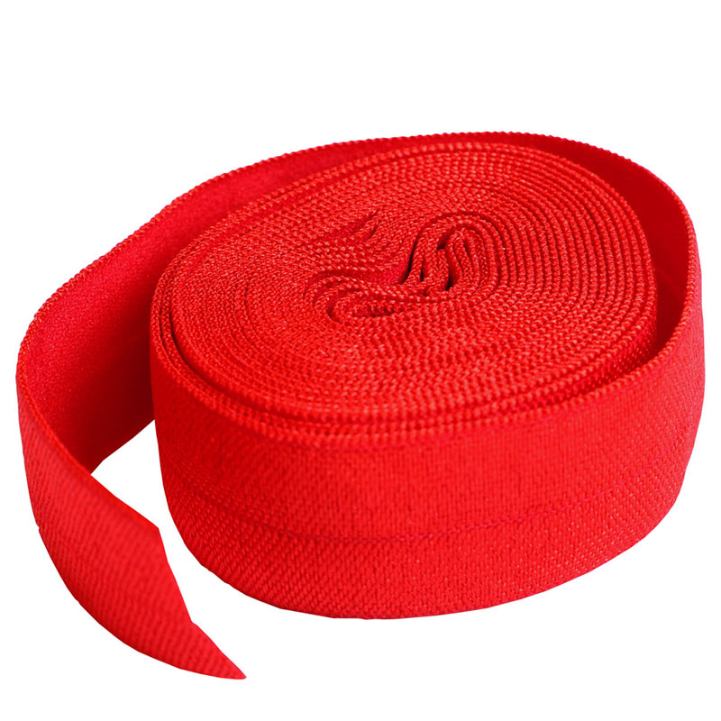3/4 FOLD OVER ELASTIC ATOM RED
