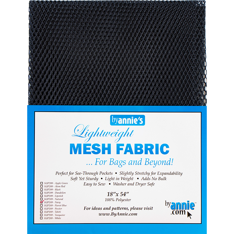 Mesh Fabric 18x54 Navy