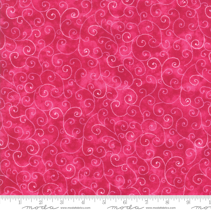 9908 62 Marble Swirls Raspberry by Moda