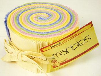 Marbles Jelly Roll Pastel