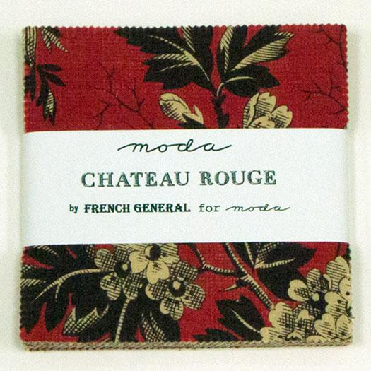 Chateau Rouge Charm Pack