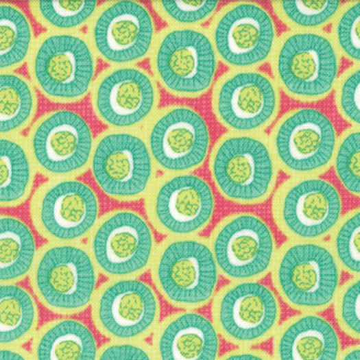 Spring House Raspberry Dots 1/4 yd