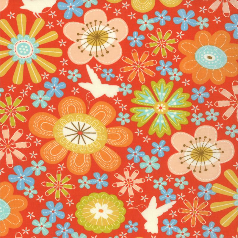 Wrens & Friends Tangerine 10001-12