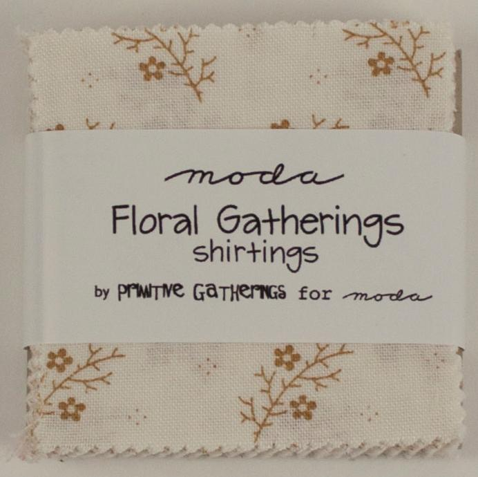 Floral Gatherings Shirtings Mini Charm