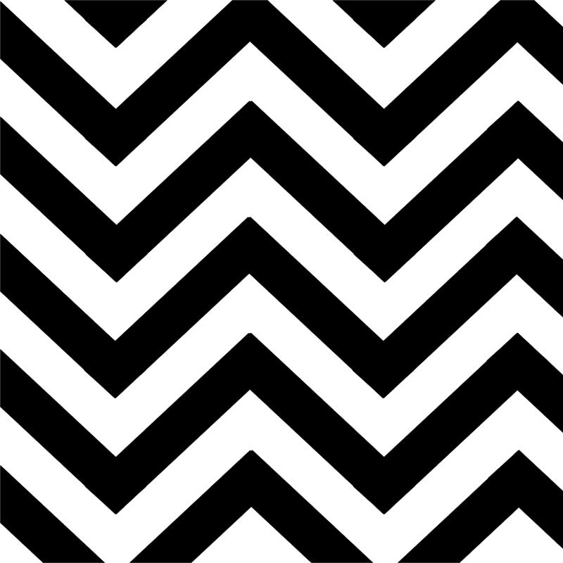 Black Chevron - black