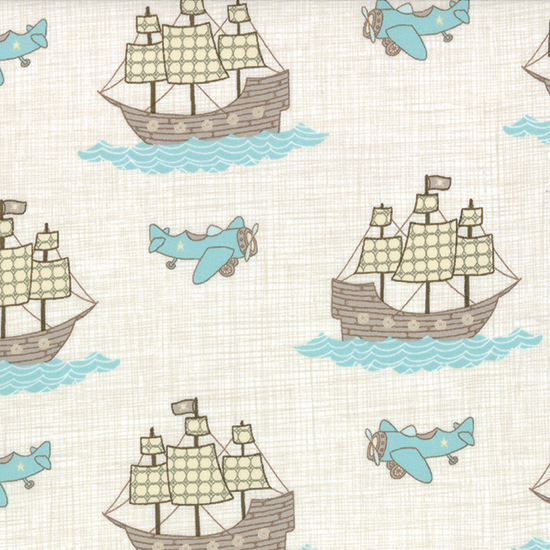 Story Book Cloud Flannel