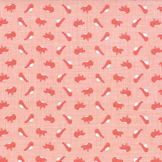 Story Book Peach flannel