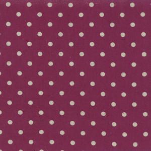 3291019 Linen Mochi Dot Boysenberry