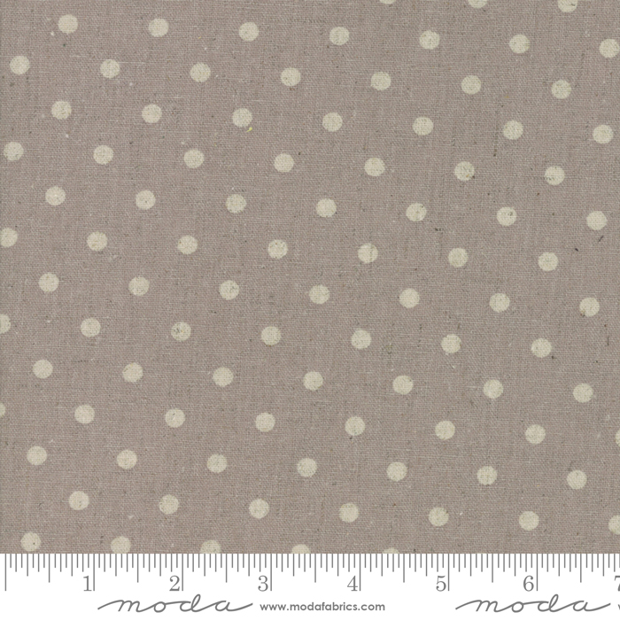 Linen Mochi Dot - Putty