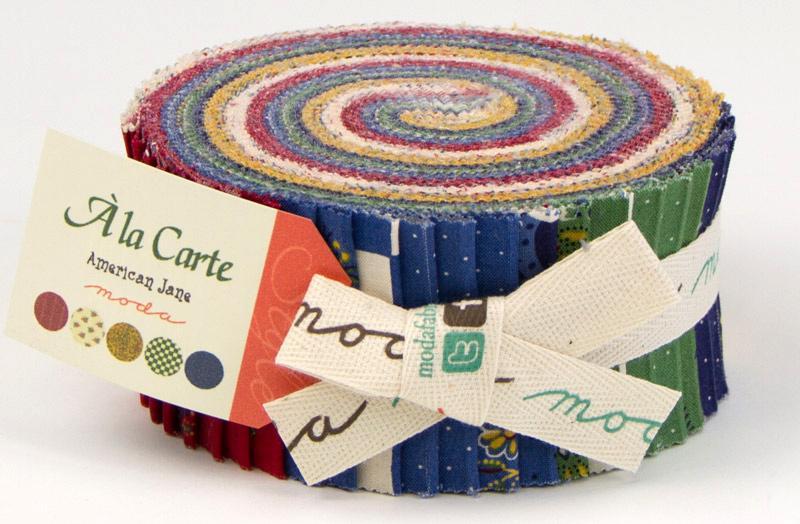 ALa Carte Jelly Roll - American Jane - Moda