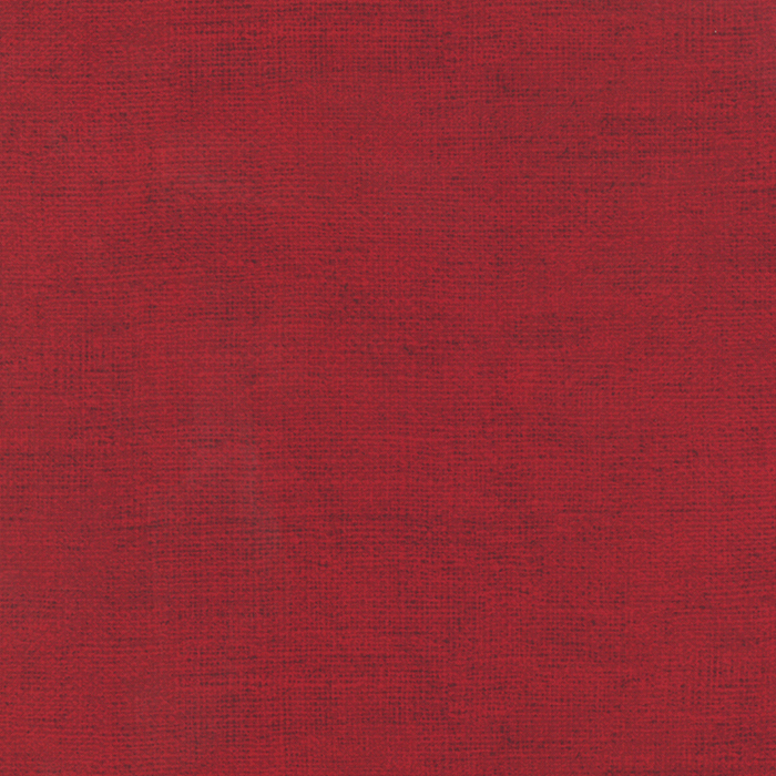 Rustic Weave Rich Red