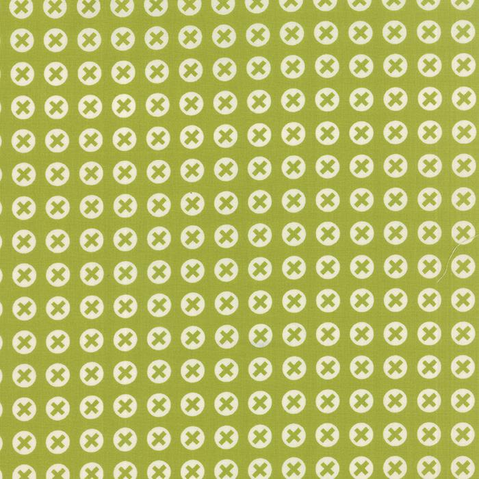 1565022  Checked Chartreuse  Reel Life by Zen Chic for Moda Fabric