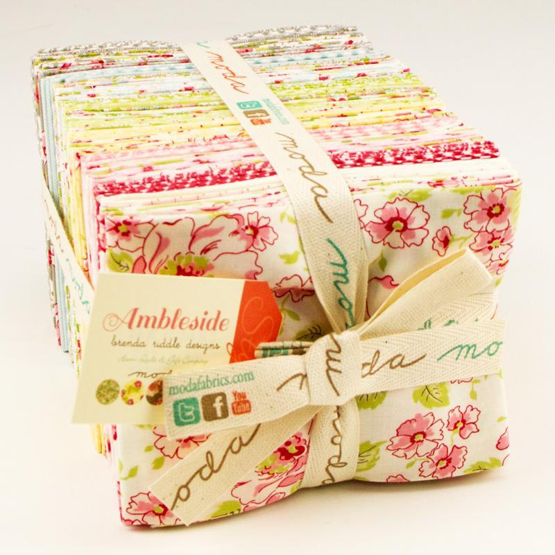 Ambleside Fat Quarter Bundle18x22 (40 Pieces) - Brenda Riddle Designs - Moda