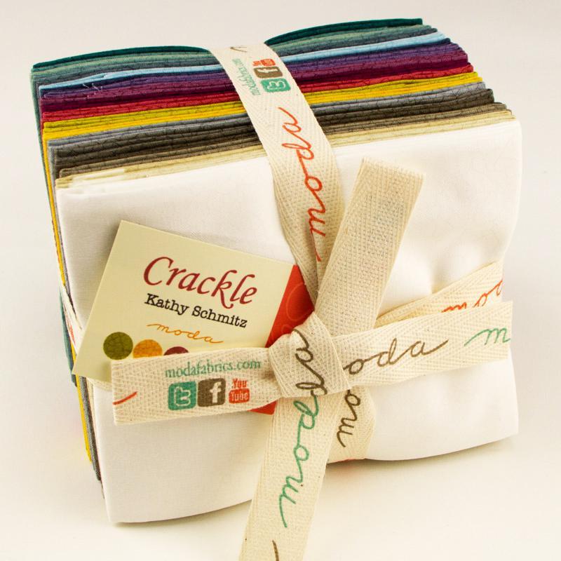 Crackle by Kathy Schmitz Fat Quarter Bundle (20 pcs)