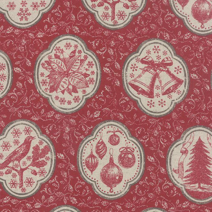 Joyeux Noel Linen Rouge