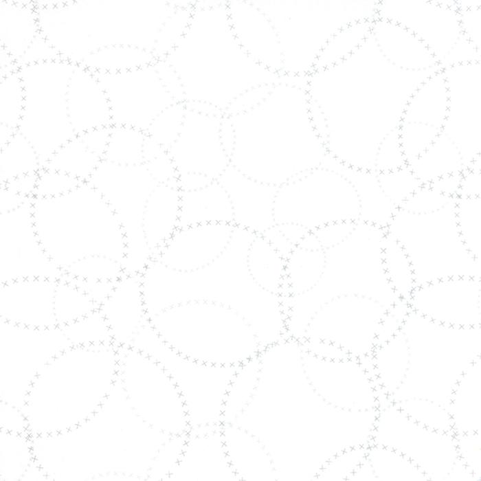 Modern BG Paper Silver White