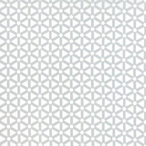 Light Grey Geometric Triangles on White
